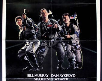 "Ghostbusters (1984) Original One-Sheet Movie Poster - 27"" x 41"""