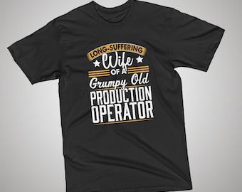 Production Operator Grumpy Old T-Shirt