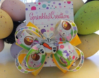 Easter Bow (Free Shipping)