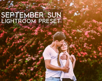 September Sun Softening Warmth Lightroom Preset Professional Photo Editing for Portraits, Newborns, Weddings By LouMarksPhoto