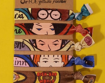 Daria inspired FOE hair tie collection