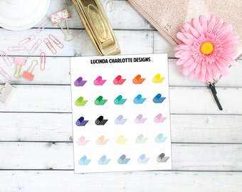 Yoga Pilates Mat (Exercise Fitness) - Planner Stickers