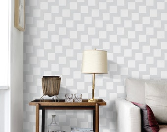 Gentle zigzag pattern wallpaper,  Repositionable, peel and stick wallpaper,  Wallskin, wall cover, wall mural  #44