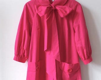 PINK SPRING COAT by Helene Berman London · Cotton Coat
