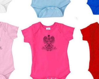 POLAND, baby polish, baby eagle, polish baby clothes, polish baby clothing, polish baby, baby girl polska, poland baby clothes, poland baby