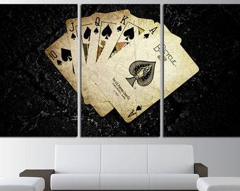 Poker Wall Art poker art poker poster cards poker print poker home decor poker wall decor poker canvas art poker canvas cards wall art