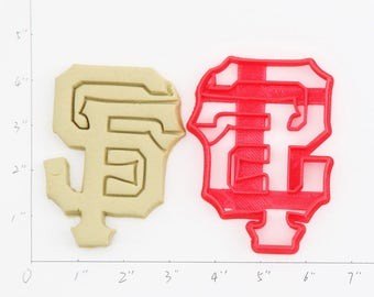 San Francisco Giants Cookie Cutter