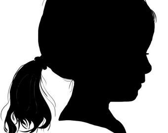 Custom silhouette (digital delivery)