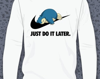 Snorlax Just Do It Later Sweatshirt