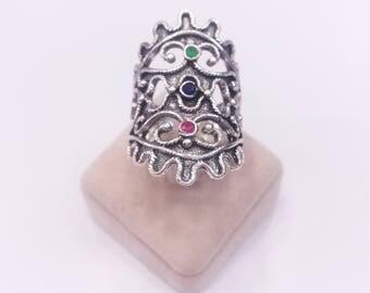 Byzantine design. Silver 925 ring