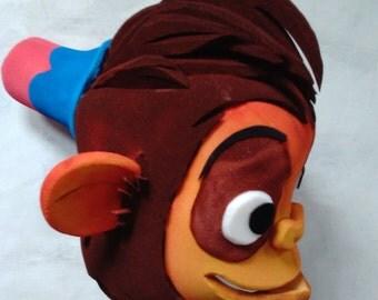 Abu Headdress, Aladdin Musical theatre, Monkey mask
