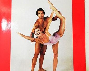Bikram's Beginning Yoga Book.  1978 edition Bikram Choudhury book.  Yoga collectible book.  Mindfulness.