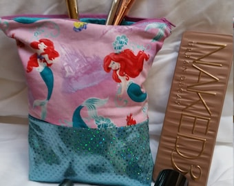 The Little Mermaid Cosmetic Bag