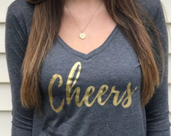 Cheers -- Women's Graphic Long Sleeve