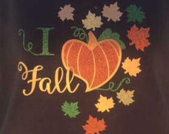 I Love Fall Sweatshirt