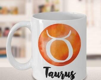 Taurus Mug - Taurus Gifts - Zodiac Mug - Horoscope Coffee Mug - Birthday Mug - Astrology Gift - Metaphysical - Celestial - Horoscopes