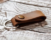 Leather key holder belt strap Leather Key Holder Leather Key-holder Mens leather key chain Leather Keyring Leather Key Fob
