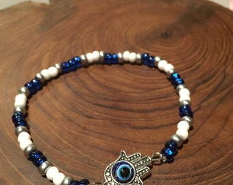 Evil Eye Hamsa Bracelet