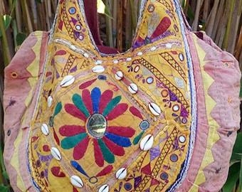 Vintage Boho Bag Hippie Indian Banjara Style Gypsy Shoulder Crossbody Bag