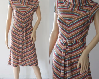 Fun 70's Psychedelic Dress