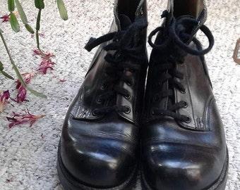 SALE** Biltrite Combat Boots Size 8.5 women (size 7 men)