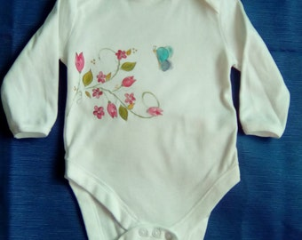 body of cotton painted handmade for baby