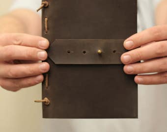 Personalized Leather  journal - Personalized journal - Leather Notebook