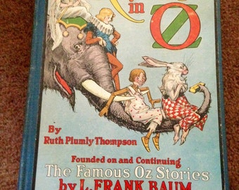 Kabumpo of Oz, by Ruth Plumly Thompson, Reilly publishers, 1922