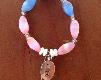 Trans Ally Charm Bracelet