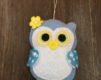 Felt Toy Owl