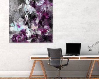 Purple Abstract Art Print, Abstract Wall Art, Abstract Print for Wall Decor, Contemporary Abstract Deco, Abstract Print, Creative Art