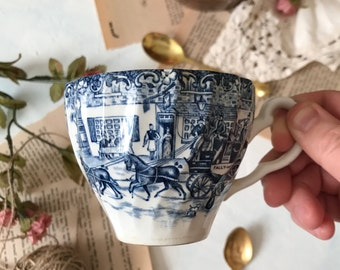 Blue and White Teacup [Food Photography Prop & Styling ]