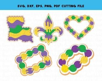 Digital Download Crawfish Mardi Gras SVG Dxf EPS Pdf Png