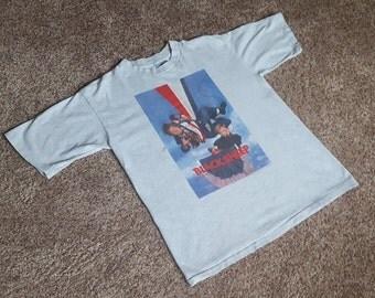 RARE Vintage 1996 BLACK SHEEP Movie Chris Farley & David Spade T Shirt