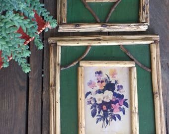 Handmade Floral pictures and frames