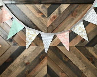 Birdy Pastels Pennant Banner