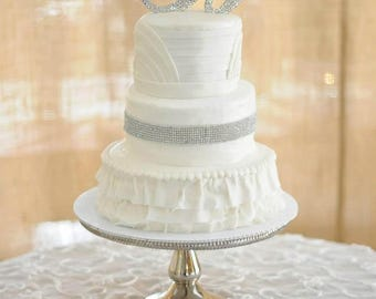 Crystal Cake Topper