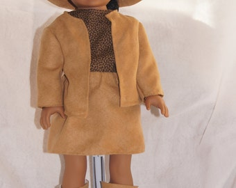 18 Inch Doll Cowgirl Outfit