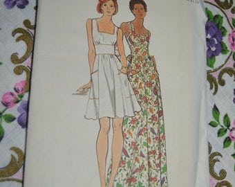 Butterick 3746 Misses Dress Sewing Pattern - UNCUT - Size 12