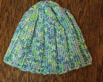 Sea Foam Knitted Hat
