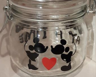 Mickey & Minnie Sweet/Cookie Jar - Small