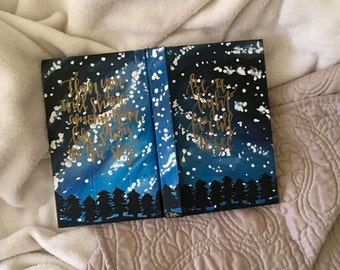 Finished Painted Journal