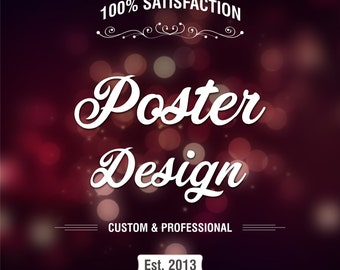 Poster Poster Design, Custom Poster, Custom Poster Design,Custom party backdrop, Shop Banner, Banner Design, Shop Graphics, Store Banner
