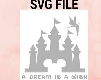 Disney Castle SVG Disney Princess Tinker bell Disney Svg Disney Monogram Svg Princess Castle Svg Magic Kingdom Svg Monogram Frame Cut Files.