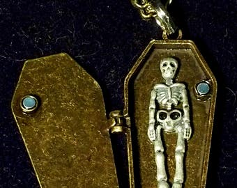 Peak a BOO - Coffin Locket