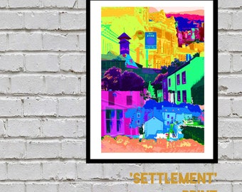 Settlement Print