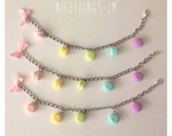 Bracelet Mini Macarons