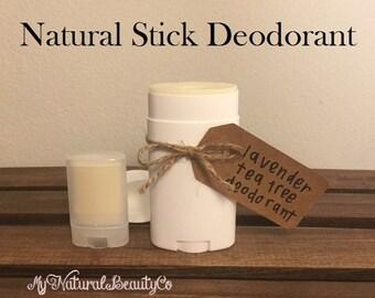 Natural Stick Deodorant, Non-irritating