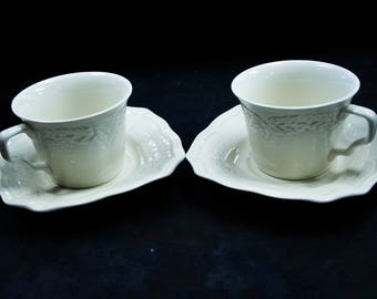 Coffee Cup and Saucer (Set of 2)