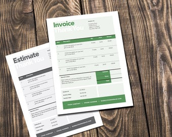 Free Editable Invoice Template Invoice  Etsy How To Prepare Invoices Pdf with Home Depot Return Policy No Receipt Pdf Printable Invoice Estimate Template Editable Template Invoice Template  Billing Template Word Invoice Personal Property Tax Receipt Mo Word